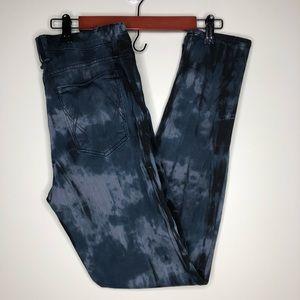 McGuire Denim Black Pattered Jeans Size 29